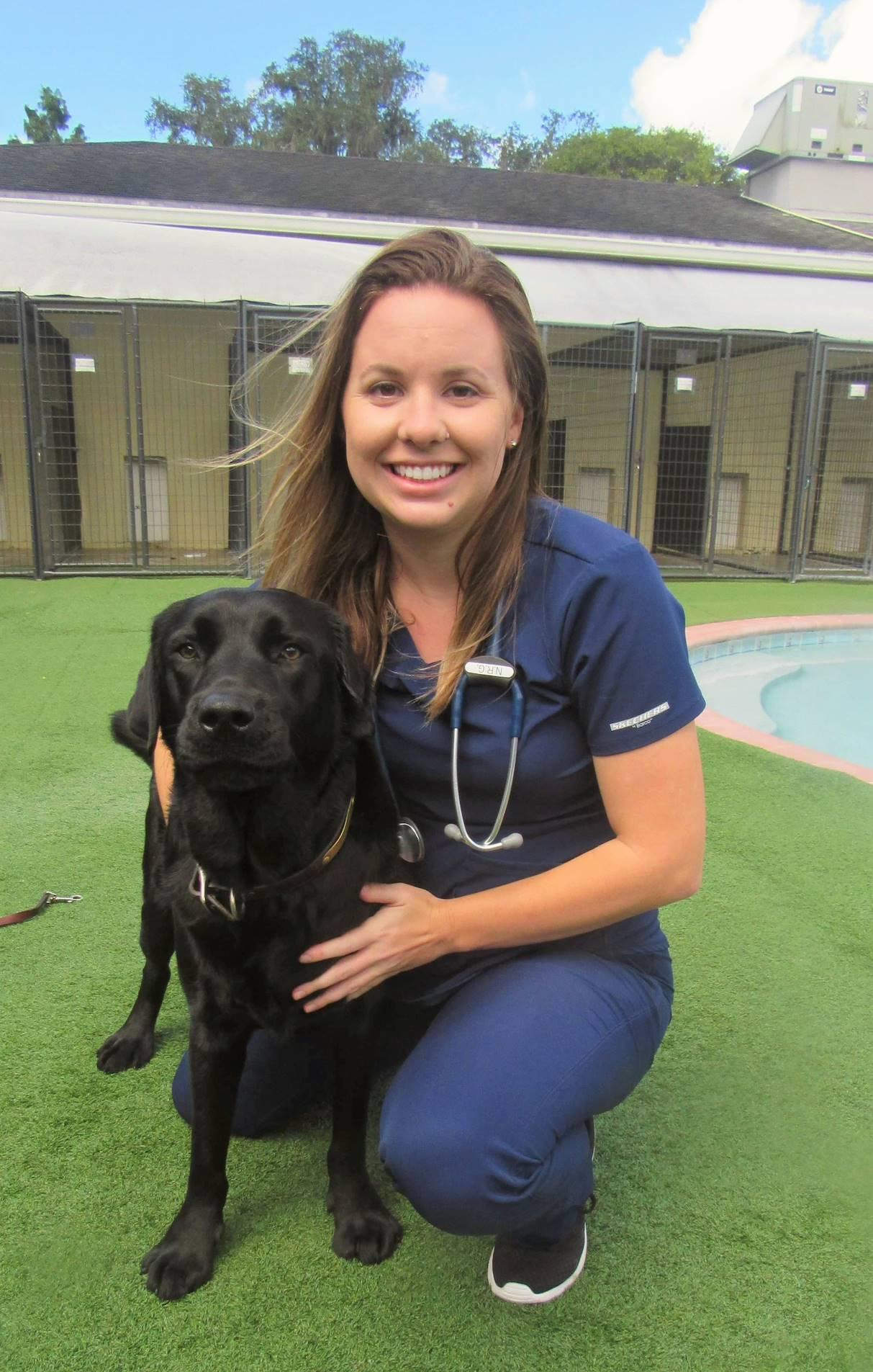 veterinary manager in play yard